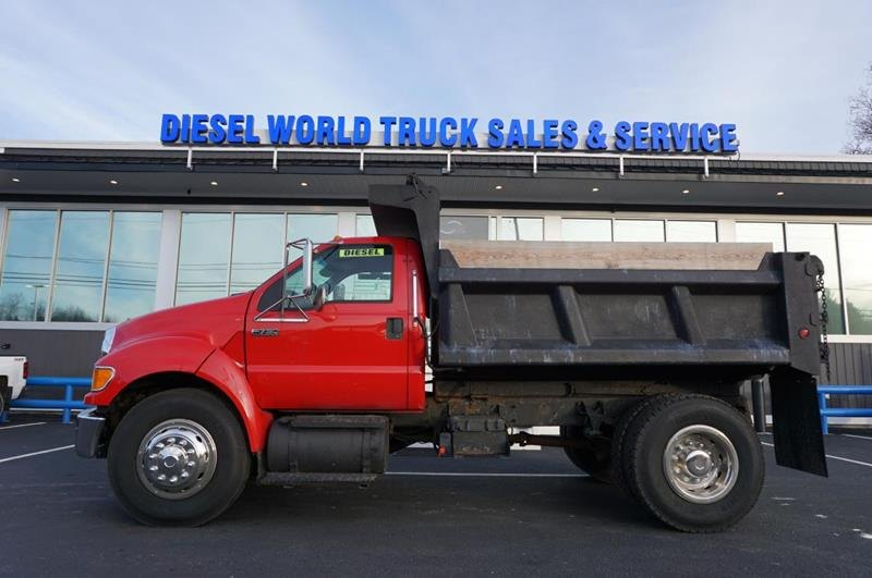 Used 2008 FORD F-750 SUPER DUTY