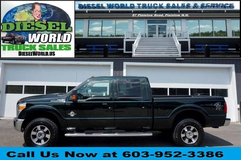 Used 2014 FORD F-350 SUPER DUTY LARIAT