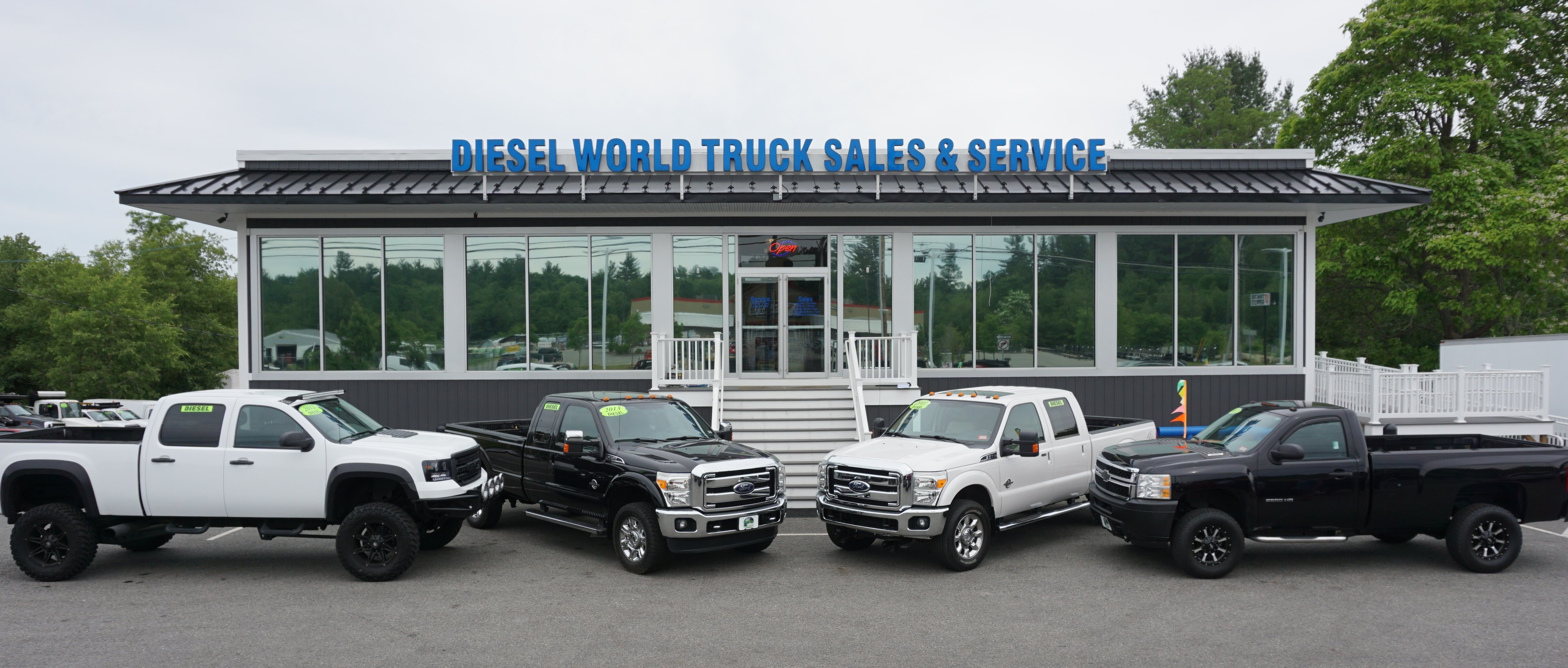 Used Diesel Pickup Trucks For Sale >> Diesel World Truck Sales With 140 Diesel Gas Used Trucks